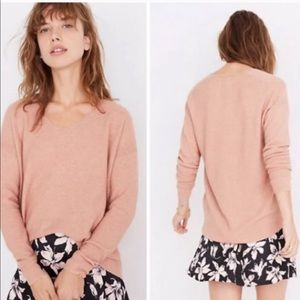 Madewell Kimball Pullover Wool Alpaca Sweater Sz M